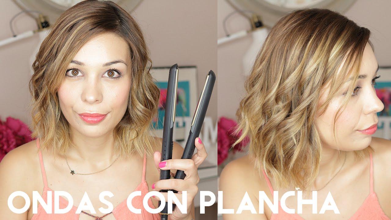 Plancha que corta el pelo